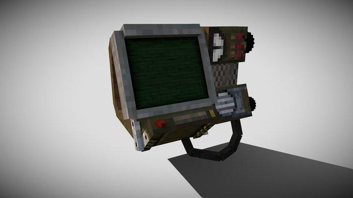 Minecraft pipboy v1.2 #short animation 3D Model