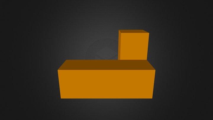 Orange Part 3D Model