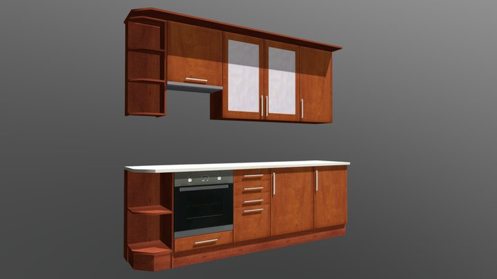 Kitchen Cabinet 7 3D Model