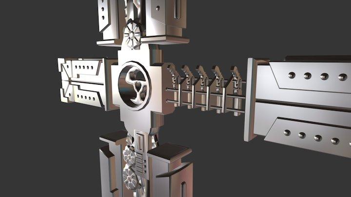 Trigun Cross 3D Model