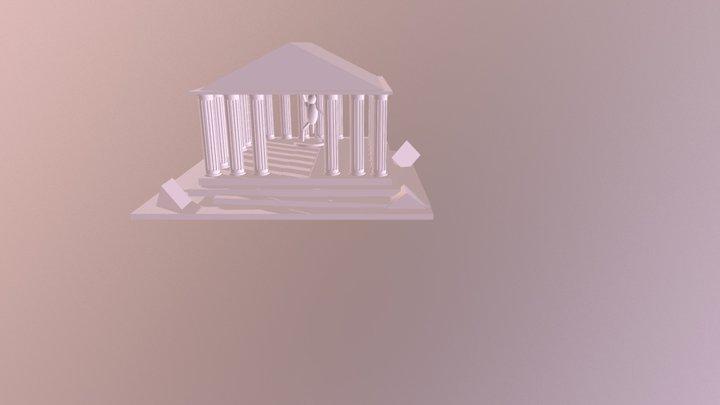 Pantheon- Nicolas Garcia 3D Model