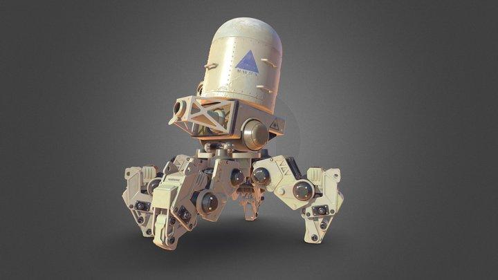 Point Defense Drone 3D Model