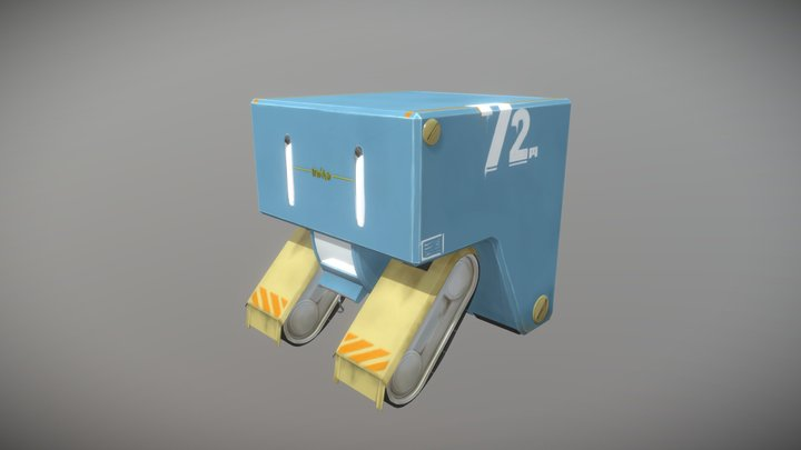 Moino-bot 3D Model