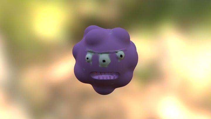 Super Lump Man 3D Model