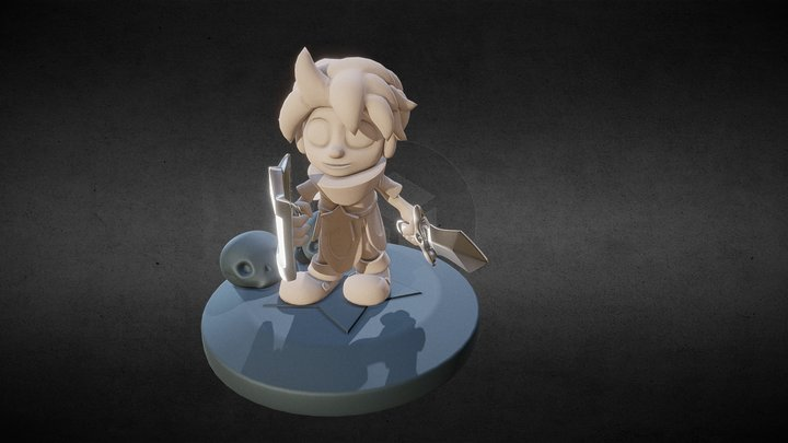 Wonder Boy The Dragon's Trap 3D Model