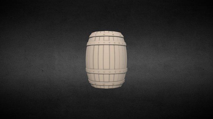 Barrel/barril 3D Model