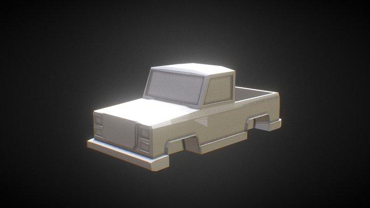My First Car Attempt 3D Model