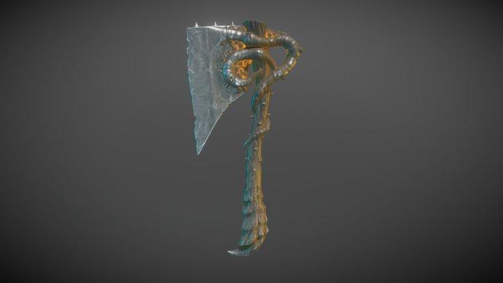 Rotten Axe 3D Model