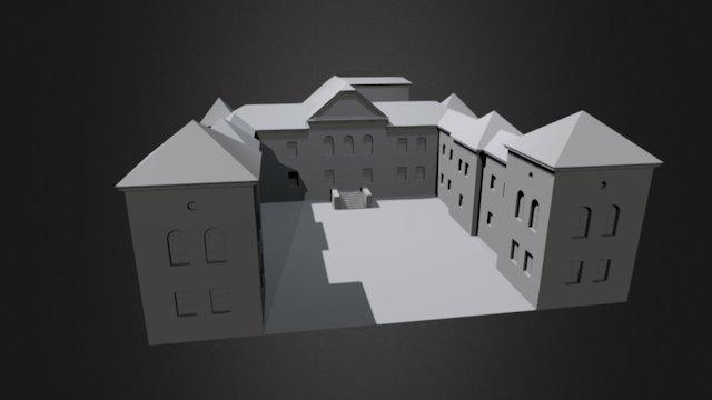 Sielecki Castle 3D Model
