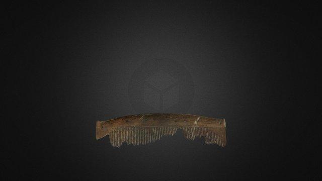Bone comb 3D Model