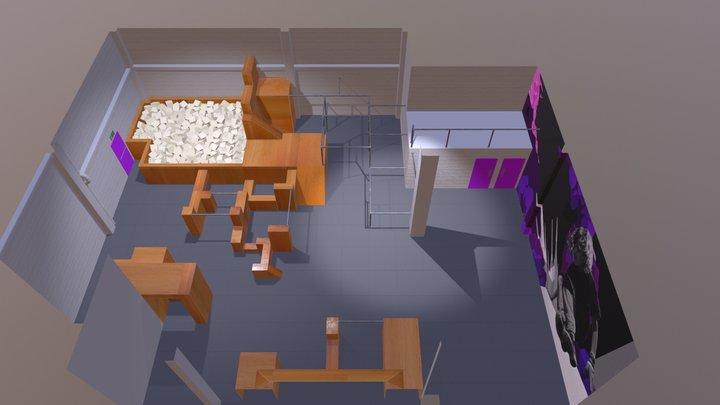 Barnsley Park 3D Model