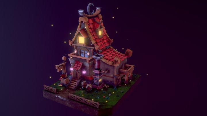 Magical House 3D Model