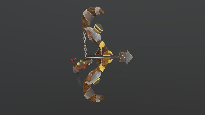 Enigma, the Ferocious Core | WoW Inspired weapon 3D Model