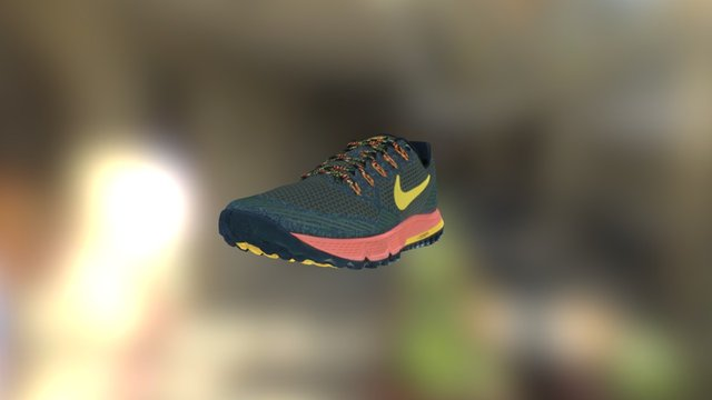 Nike Wildhorse 3 3D Model