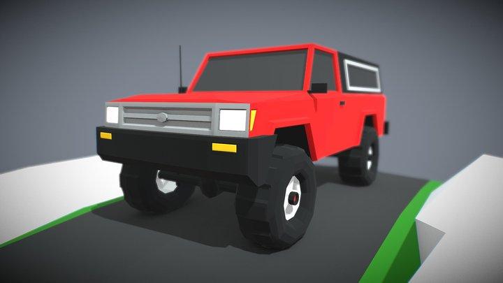 Toy Truk 01 3D Model