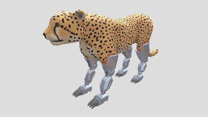 Cybercheetah 3D Model