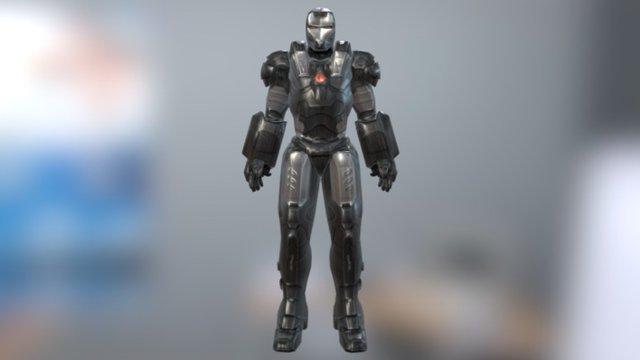 War Machine Mark 001 3D Model