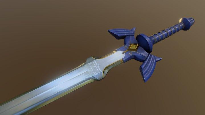The Master Sword - Legend of Zelda 3D Model