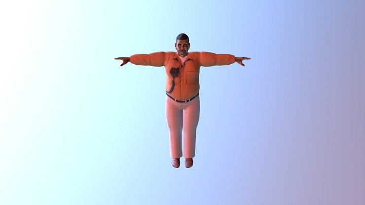 Mr Buckley 3D Model