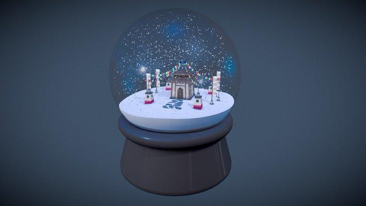 Snowglobe 3D Model