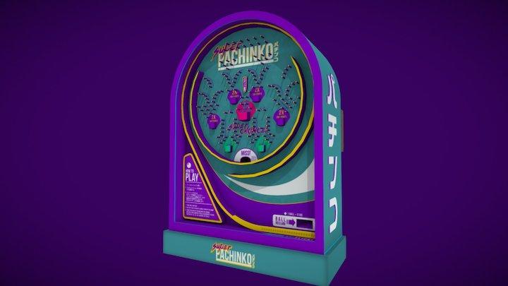 Pachinko Machine (TTS) 3D Model