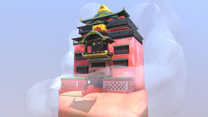 Castillo - El Viaje De Chihiro 3D Model