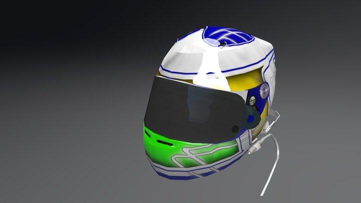 Fenavo Games Racing - Raphael Brito Helmet 3D Model