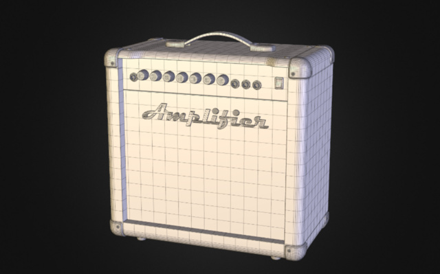 Amplifier v1.0 3D Model