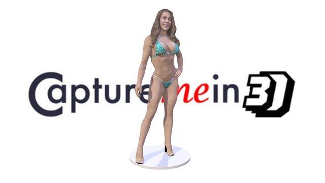 Maria Bodybuilder 3D Model