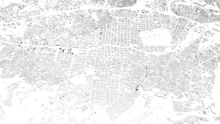 MADRID CITY 3D 3D Model