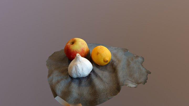 Martwa natura 3D Model