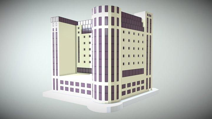 Hotel Bahia 3D Model