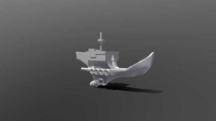 Ship4Jonas 3D Model