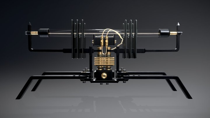 Machine light NO.03 3D Model