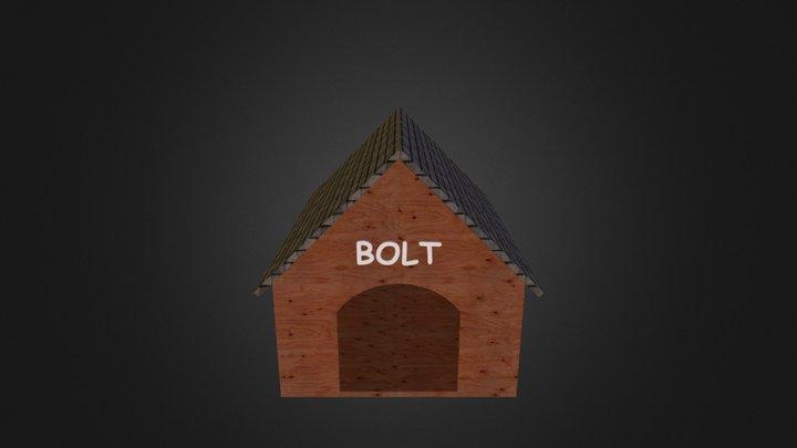 Dog House 3D Model