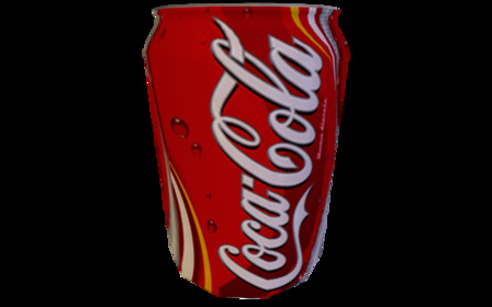 CokeCan 3D Model
