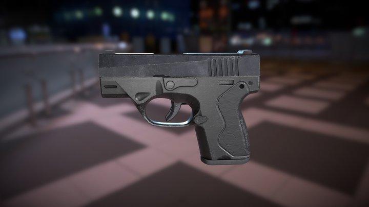 Beretta Nano 3D Model