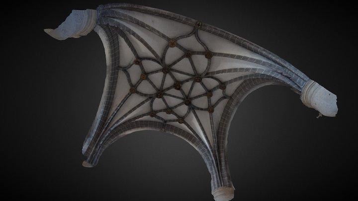 Bóveda iglesia Mota del Marqués 3D Model
