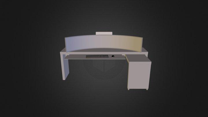 PC Bord - Konsept v 0.1 3D Model