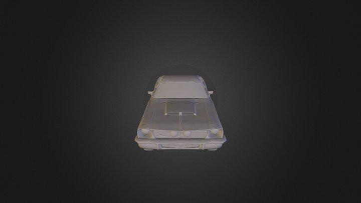 GT500 3D Model