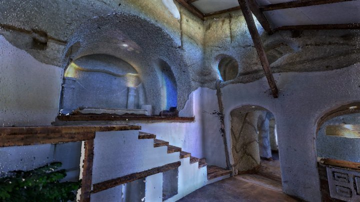 CAVERNUM - cave apartment #2 3D Model