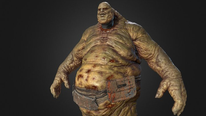 walking giant 3D Model