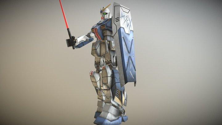 Gundam Alex RX 78 NT-1 3D Model