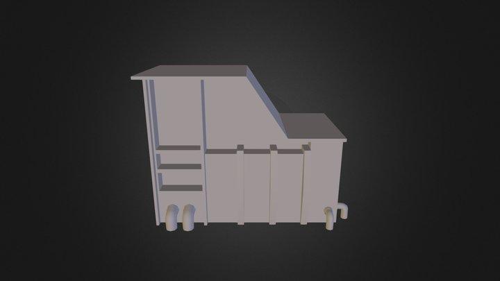 LOW POLY 612w Knobs 3D Model