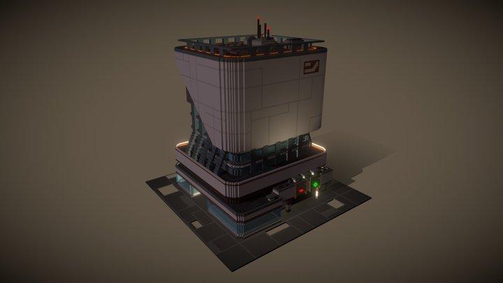 AC Relay - Industries of Titan fan art 3D Model