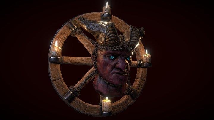 Demon Head Low 3D Model