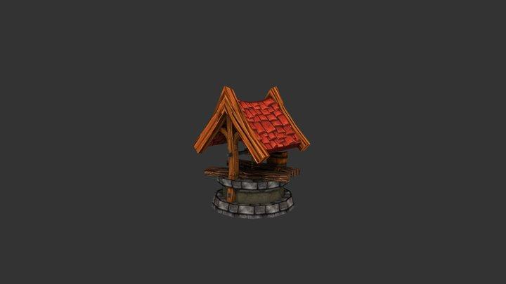 3D Water Well 3D Model