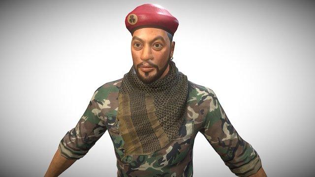 DTM Soldier 3D Model
