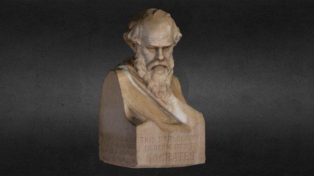Bust of Socrates 3D Model