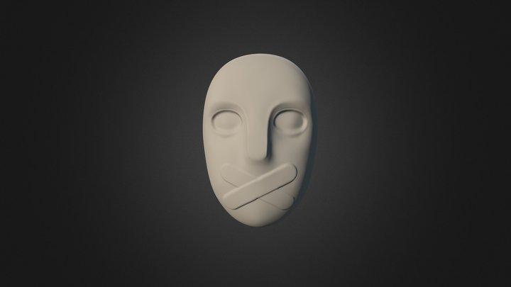 Silence Mask 3D Model